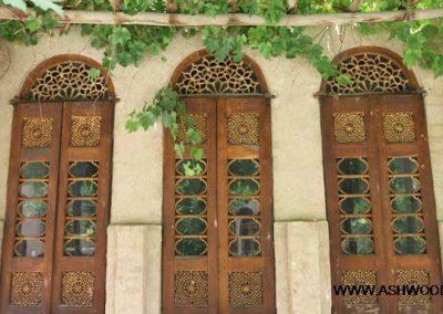 خانه و درب و پنجره های قدیمی , قوس در معماری ایرانی