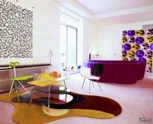 رنگ در دکوراسیون داخلی ، دکوراسیون چوبی  سال 2015 مد سال دکوراسیون
