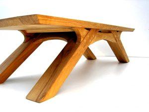 میز قهوه خوری چوب بلوط