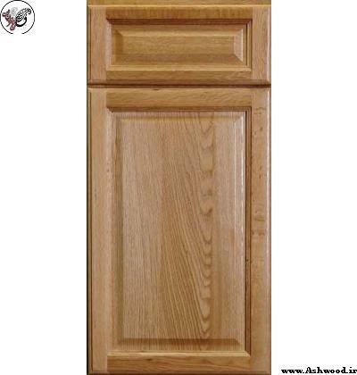 کابینت آشپزخانه کلاسیک چوب بلوط
