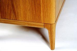 میز نهار خوری و کنسول چوب بلوط لوکس و درجه یک