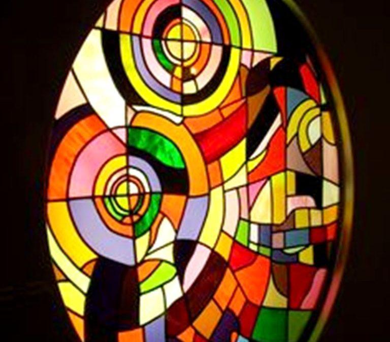 نقاشی روی شیشه ( ویترای )