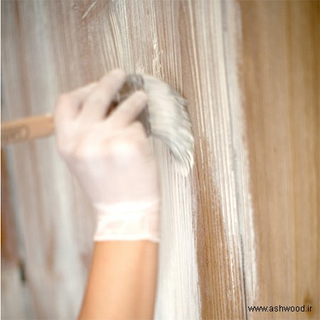 رنگ چوب سفید , رنگ وایت واش٬ چوب کاج