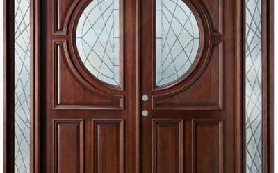 درب چوبی شیشه خور , مدل درب های شیشه ای در دکوراسیون خانه
