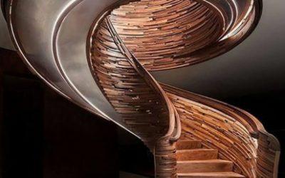 پله چوبی شگفت انگیز برای خانه شما