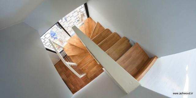 مدل پله چوبی داخل ساختمان , عکس راه پله , تصاویر انواع مدل راه پله چوبی , ایده طراحی راه پله