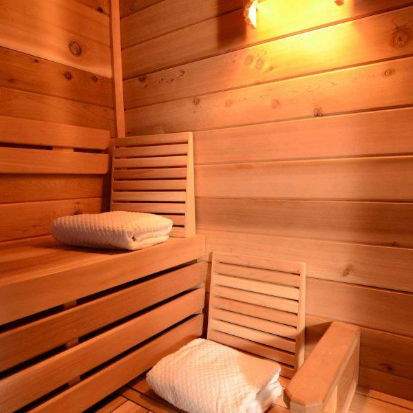 ساخت سونای خشک , لمبه چوب کاج سونا
