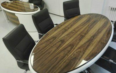 ساخت میز اداری رستوران شاندیز ماهان