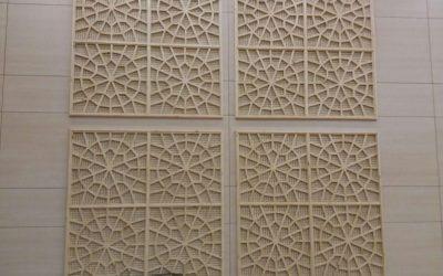 سقف کاذب مسجد جامع غدیر خم سالن اجتماعات