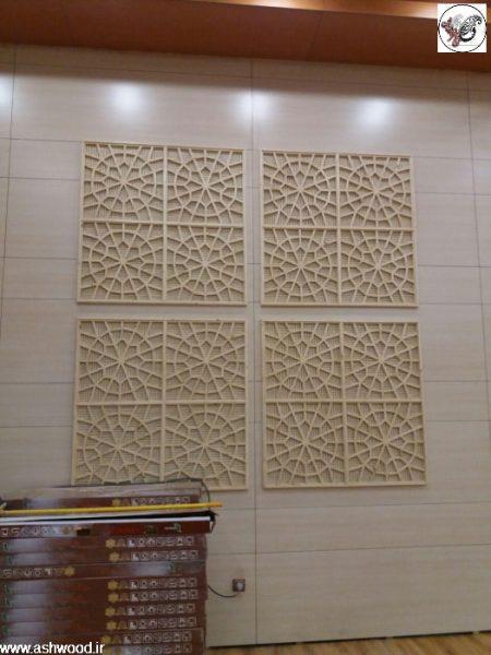 سقف کاذب مسجد جامع غدیر خم سالن اجتماعات جناب طائفی