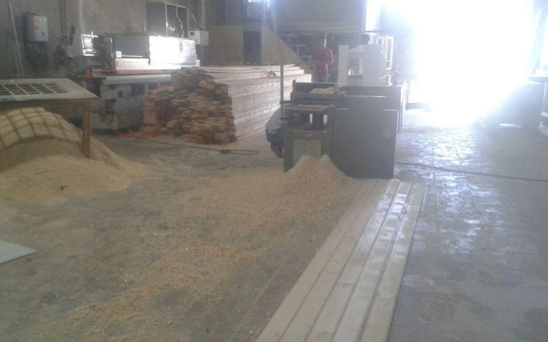 کارخانه چوببری