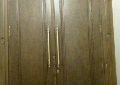 درب ورودی رستوران شاندیز