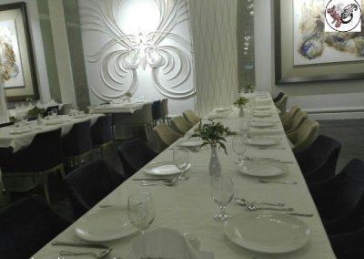 سالن شماره 2 رستوران ماهان شاندیز ، دکوراسیون رستوران