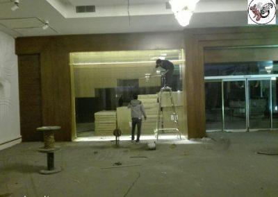 دکوراسیون رستوران ماهان شاندیز اثر گروه فن و هنر ایران زمین