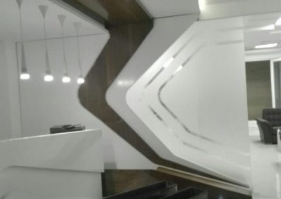 میز و کانتر ، دکوراسیون ورودی ساختمان ، دکوراسیون لابی