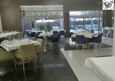 سالن شماره یک رستوران ماهان شاندیز