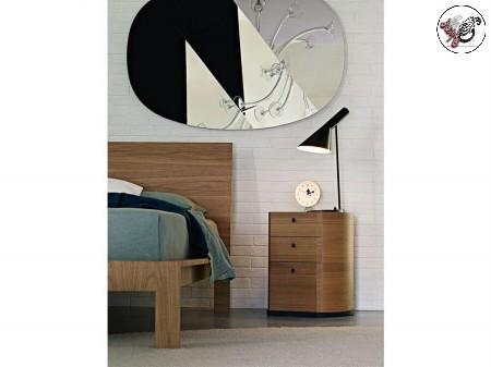 تخت خواب چوب بلوط