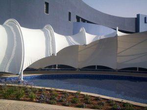 سایبان سقف های کششی ، سقف های محیطی ، چادر