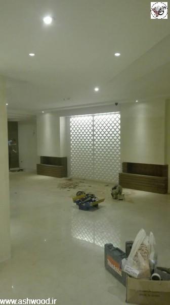 پروژه لابی ساختمان پارادایز ، فرمانیه