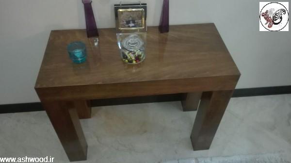 میز خاطره تمام چوب