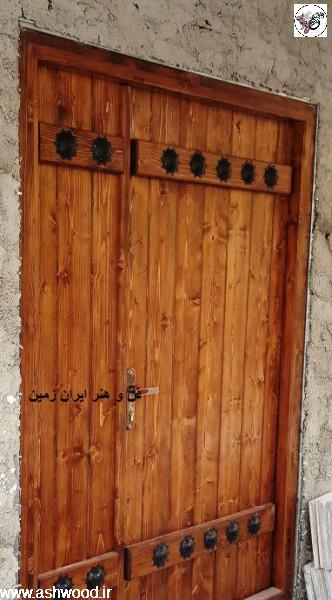 درب قدیمی ، دکوراسیون سنتی ، رضا کیانیان