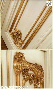 ساخت درب کلاسیک سبک باروک مدل ایتالیایی
