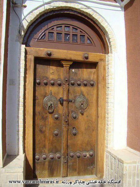تصاویر درب سنتی چوبی طرح قدیمی