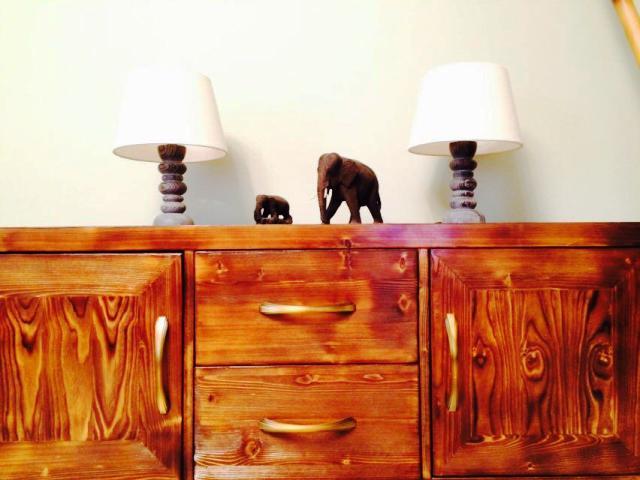 کنسول چوبی لوکس , دکوراسیون چوبی آنتیک