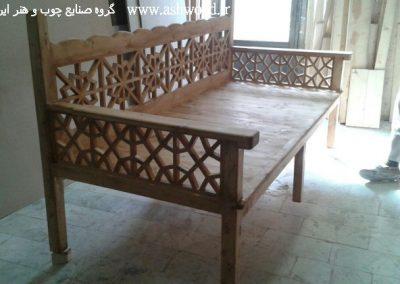 نمونه کار دکوراسیون چوبی