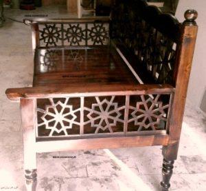 تخت سنتی سفارش خانم حسینی منطقه سعادت اباد