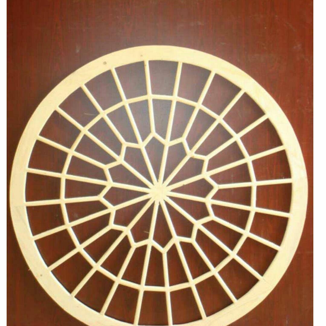مشبک گره چینی دایره ، گرد و نیم گرد سنتی