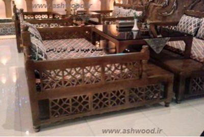تخت سنتی مشبک جهت رستوران سنتی