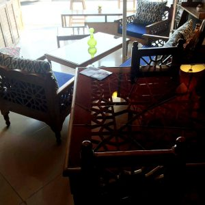 تخت سنتی , مبلمان سنتی شمسه و گره چینی