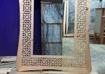 قاب آینه گره چینی