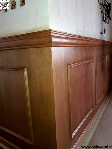 نمونه کار رنگ کاری چوب