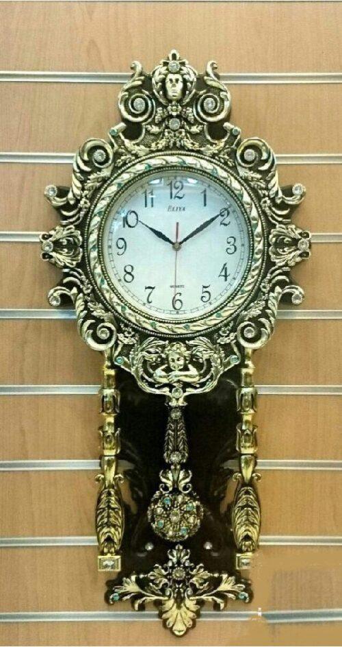 ساعت زیبای پلی استر , الیا آبکاری(جدید)