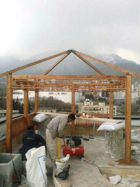 دکوراسیون چوبی ، صنایع چوب و هنر ایران زمین ، ساخت آلاچیق