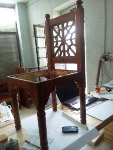 مبلمان سنتی ( تخت های مشبک ایرانی )