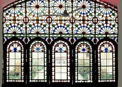 درب و پنجره چوبی , گره چینی