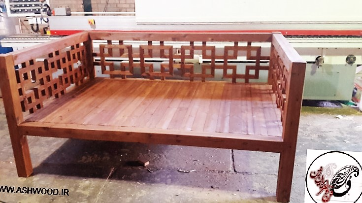 لوازم چوبی سنتی و گره چینی