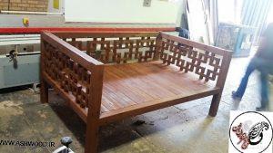 مبلمان و تخت سنتی چوب ترمووود