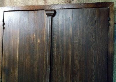ساخت درب انتیک قدیمی , یراق الات دست ساز قدیمی , طراحی و ساخت انواع درب و یراق قدیمی ، چلنگری و ارسی سازی , گره چینی با شیشه رنگی