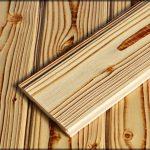 چوب کاج روستیک ، لمبه چوب روسی ، سندبلاست ، رنگ چوب ، کهنه کاری روی چوب