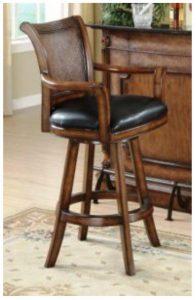 این نمونه تماما با دست ساخته میشود و یک اثر خاص است . تکیه کاهش از حصیر است هیچ چوب صافی در این صندلی بکار نرفته در اصل یه مدل مبل بار است .