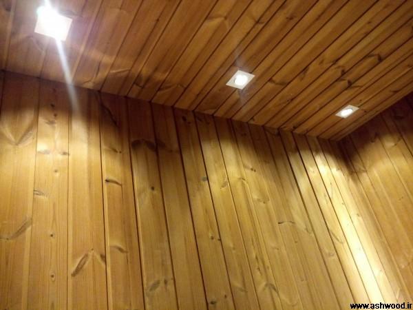 ساخت سونای خشک چوب ترمووود , سعادت آباد پروژه باغ بهشت
