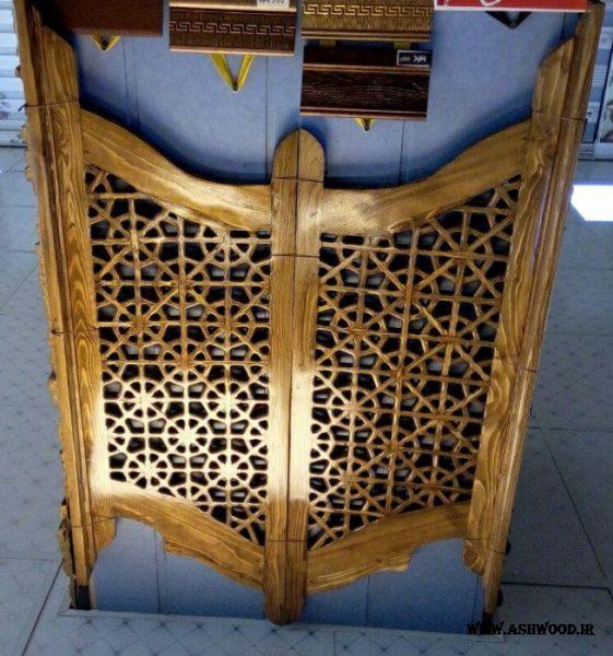 درب های بادبزنی چوب , سبک سنتی