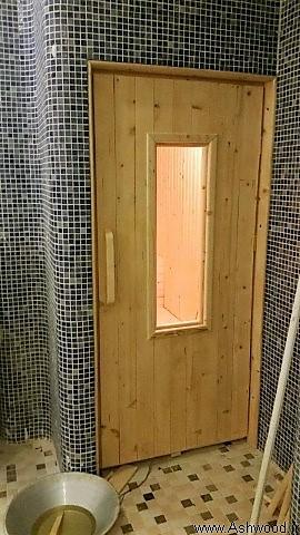 ساخت سونای خشک , چوب مخصوص سونا