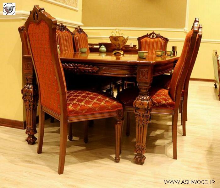 مبلمان لوکس چوبی , مدل جدید مبل نجاری و درودگری