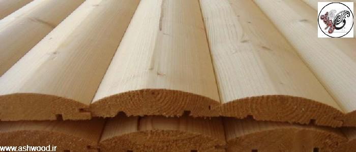 کفپوش و دیوارکوب چوب طبیعی