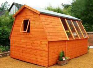 رنگ برای سازه های چوبی